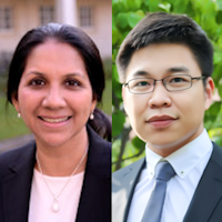 Dr Sriya Iyer and Dr Weilong Zhang